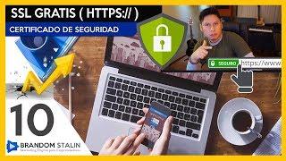 """CERTIFICADO SSL GRATIS /  CÃ""""MO TENER HTTPS EN TU SITIO WEB ..."""