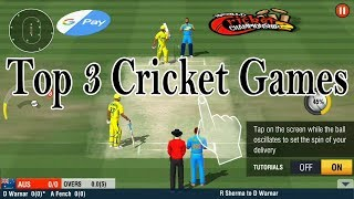 Top 3 Cricket Games 2018 For Android Mobile