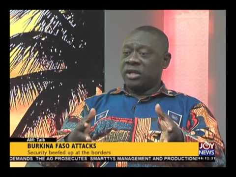 Burkina Faso attacks - AM Talk on Joy News (19-1-16)