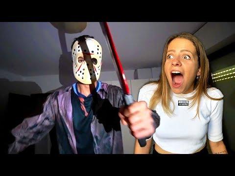 DIVENTO JASON NELLA VITA REALE E SPAVENTO NINNA! *Scherzo Di Halloween Alla Mia Ragazza*