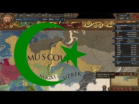 Europa Universalis 4 Muslim revolt Convert Russia to Islam