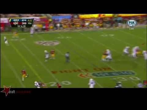 #90 George Uko, DT, USC vs Arizona