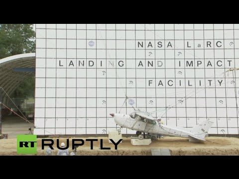 LIVE: NASA to test emergency locator transmitters by crashing airplane