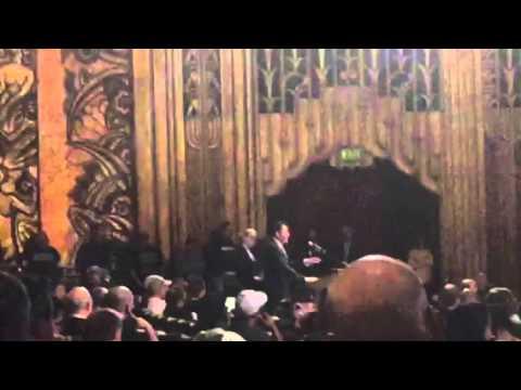 Chris Dobbins Speech NFL Town Hall Meeting Oakland