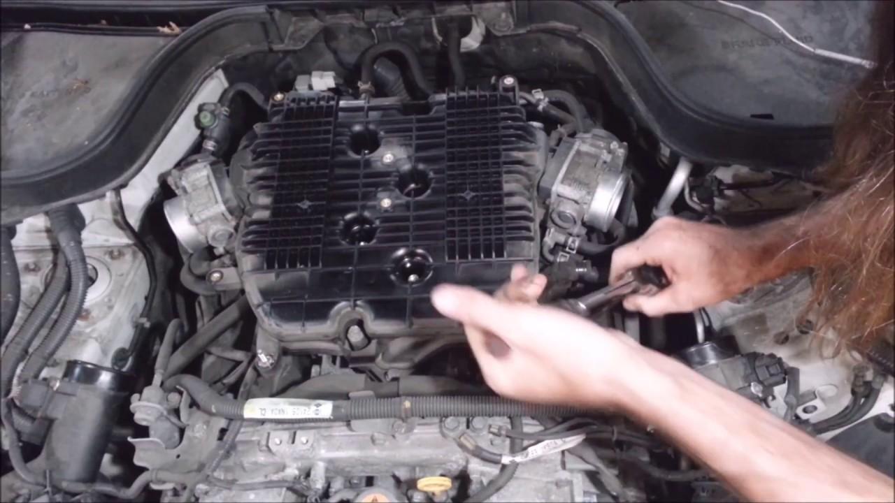 2008 Infiniti G35 Spark Plug Replacement