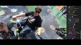 Andy: Disney Scooter Challenge *W E T T*