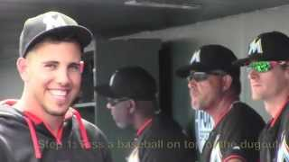 Miami Marlins - Jose Fernandez Pranks Spring Training Fans 2015