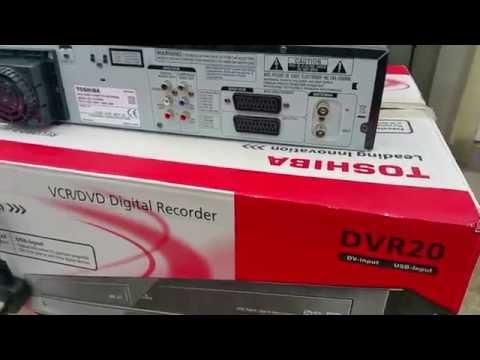 DVR20KB TOSHIBA VCR/DVD Digital Recorder