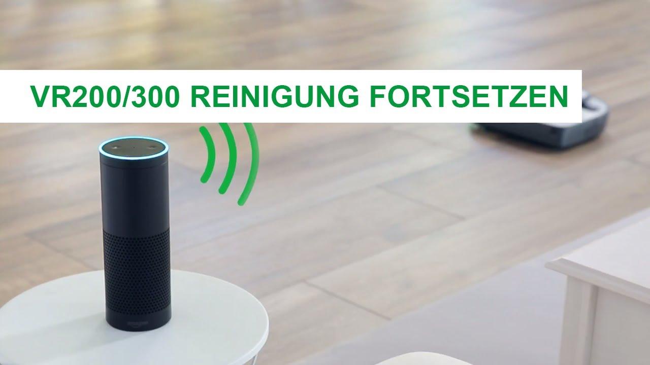 Reinigung fortsetzen – Amazon Alexa mit Vorwerk Saugroboter: Vorwerk ...