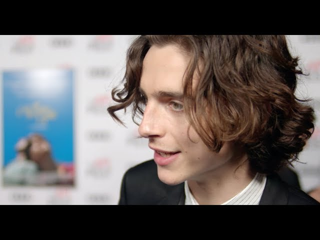 CALL ME BY YOUR NAME red carpet interviews: AFI FEST 2017
