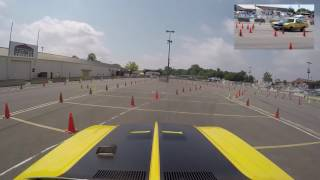 Andy Voelkel competes at Goodguys Columbus Autocross 2017