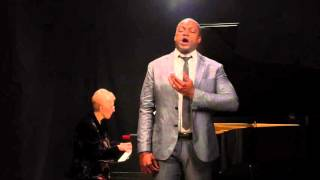 "Nelson Ebo sings ""Wintersturme"" from Die Walkure"