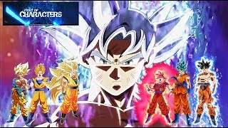 FOCS Fight Of Characters MODE Goku