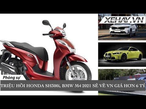 Triệu hồi hơn 1.300 xe SH300i nhập khẩu, BMW M4 2021 sẽ về VN giá hơn 6 tỷ, MINI Cooper SE điện