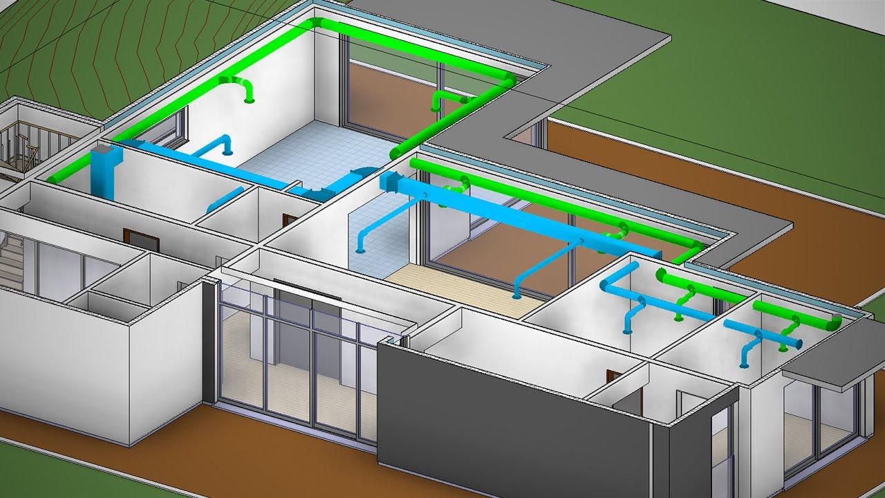 3d hvac drawing images autobim3d: export your 3d hvac plans for bim projects ... #14