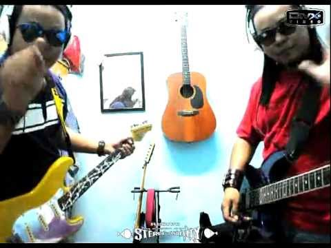 cinta muka buku - twin guitars covers