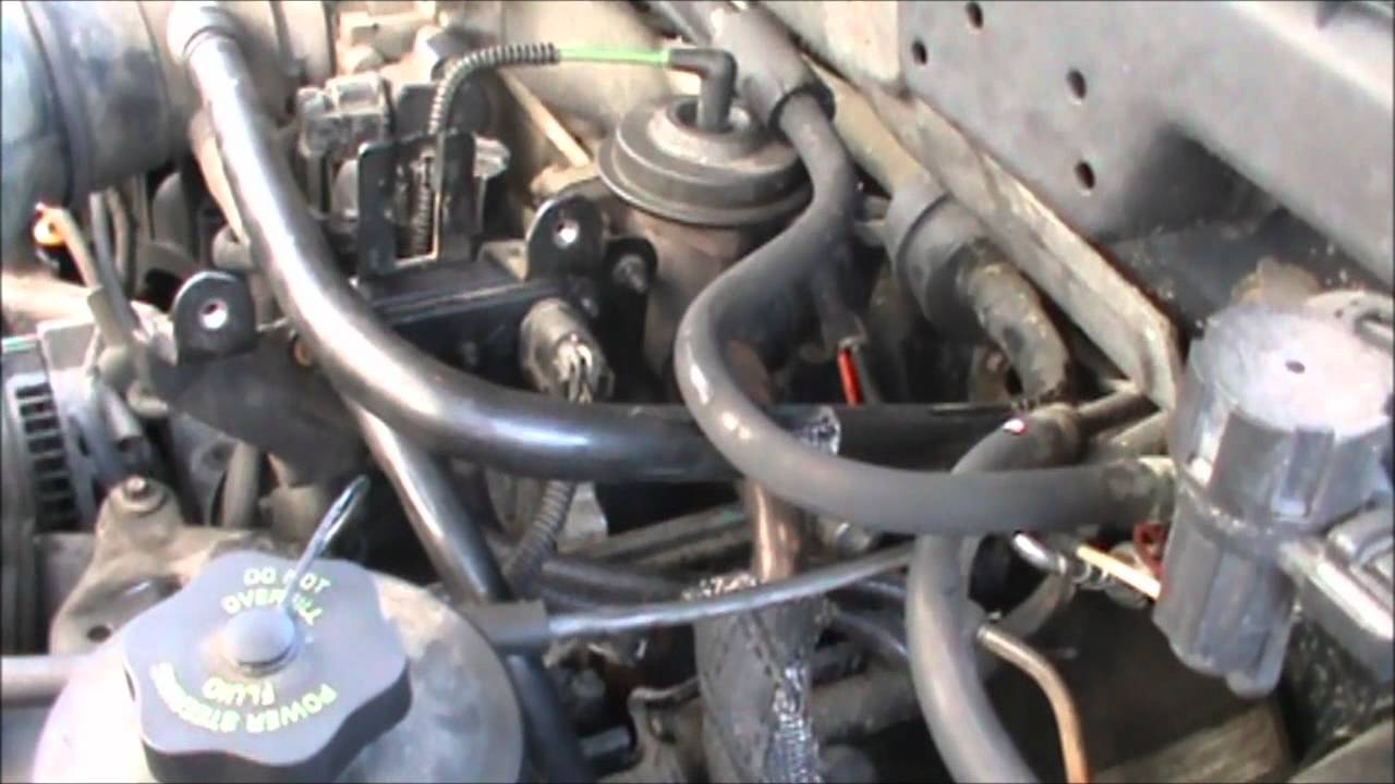 Ford Egr Dpfe Sensor Engine Repair Light Youtube