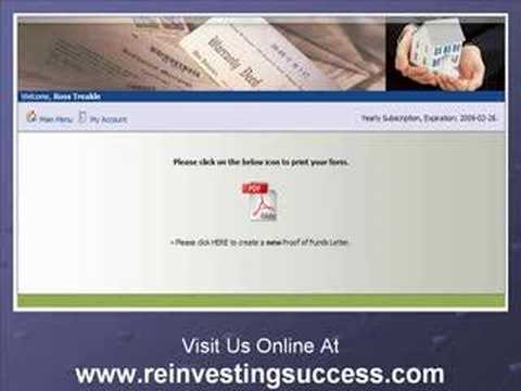 Real Estate Short Sale: Create A Proof Of Funds Letter - Youtube