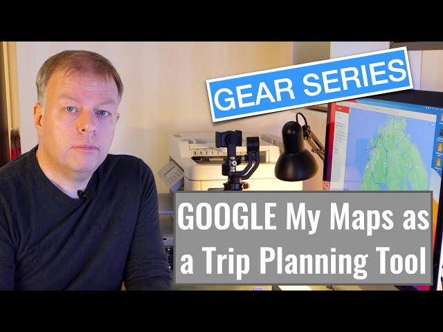 Google My Maps as a trip planning tool, is it possible?