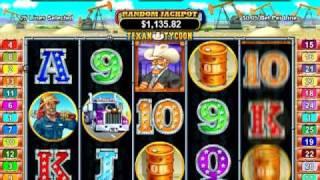 Texan Tycoon Slot Machine Video at Slots of Vegas