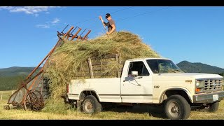 1940's Hay Loader: Rescued and Relied Upon