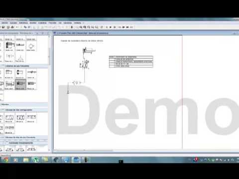 Circuito Neumatico Simple : Electroneumatica circuitos con cilindro de simple y doble efecto