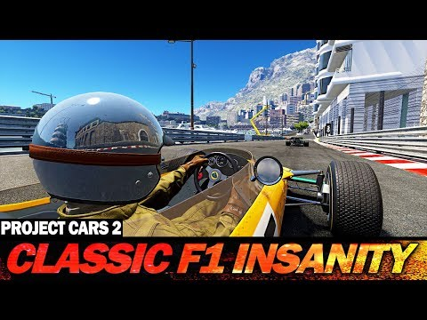 Project Cars 2: Classic F1 Insanity at Monaco