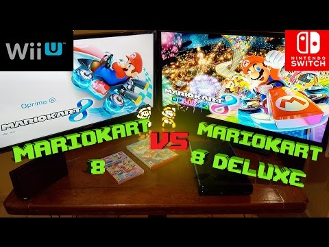 Comparativa Mariokart 8 Deluxe SWITCH y Mariokart 8 WII U   Analisis   opinion  