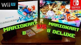 Comparativa Mariokart 8 Deluxe SWITCH y Mariokart 8 WII U | Analisis | opinion |