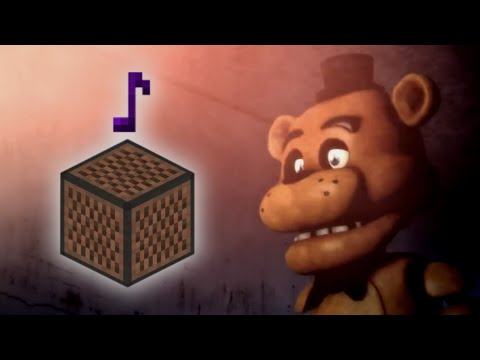 Five Nights At Freddy's 3 Die In A Fire - Minecraft Note Block Remake (The Living Tombstone Song)