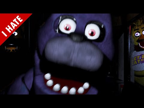 WARNING: LEAST SCARY GAME IN YEARS | I HATE FIVE NIGHTS AT FREDDY'S