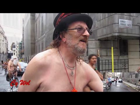 World Naked Bike Ride London (WNBR) 2016 (improved version)
