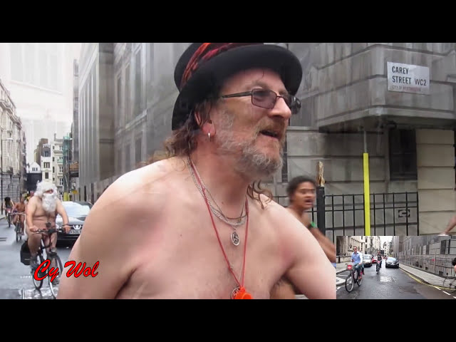 World Naked Bike Ride London (WNBR) 2016 (improved version)