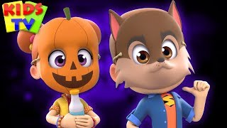 Knock Knock Who's There | Spooky Halloween Songs + More Kids Music