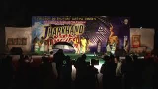 1ST JHARKHAND CINE AWORD 2010 SURENDRA TUDU Performance