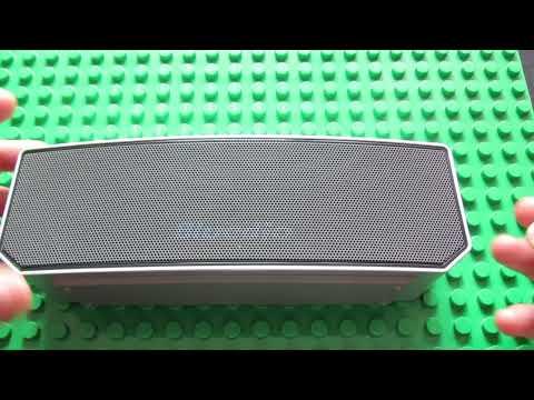 Bluedio BS - 3 Bluetooth V4.1 Speaker Sound Test