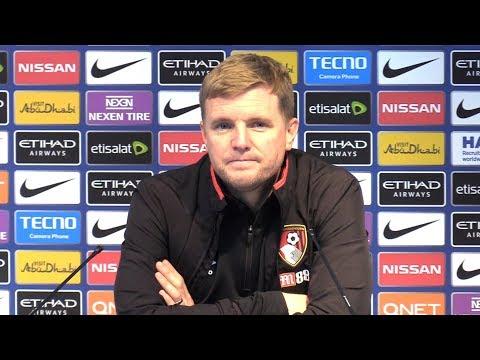 Manchester City 4-0 Bournemouth - Eddie Howe Post Match Press Conference - Premier League #MCIBOU