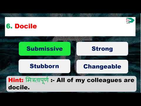 Level 15 Synonyms /SSC Previous Years Exams/ssk Quiz  English Vocabulary