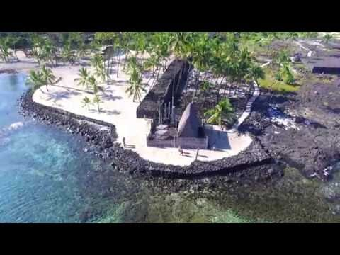 Honaunau Bay from the Air