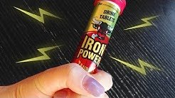 Iron Power Energy Drink Tablets