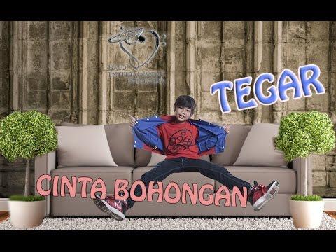 TEGAR - CINTA BOHONGAN - Official Lyrics Video