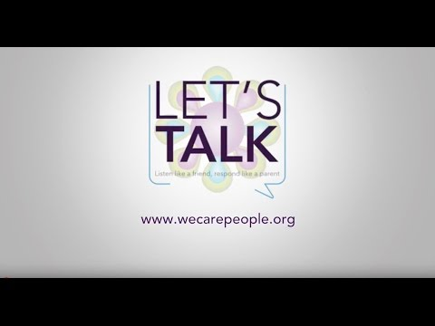 Let's Talk- How to Talk to Your Kids About Drugs, Suicide, and Their Strengths