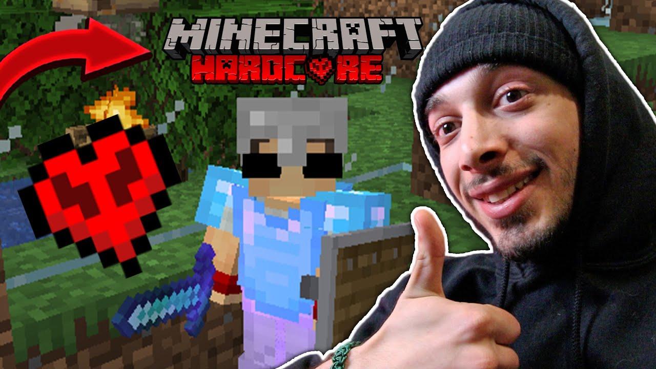 ტობის ცოლი მოყავს! 🔴 Minecraft Hardcore #8