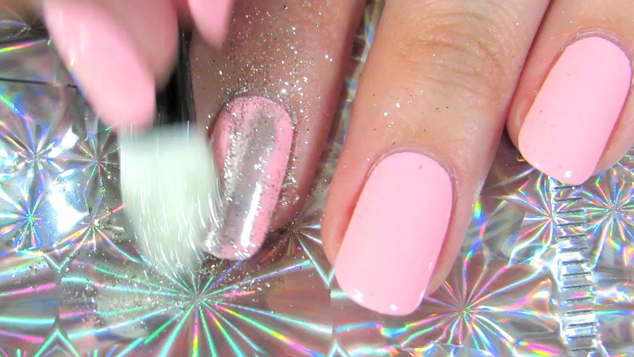 Mirror Chrome Powder Nails Born Pretty Store Review Youtube