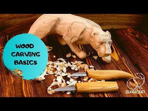Wood Carving for Beginners - Basics&Tips