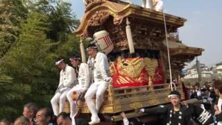 千早赤坂村60周年パレード 水分 ドリフのバイのバイのバイ