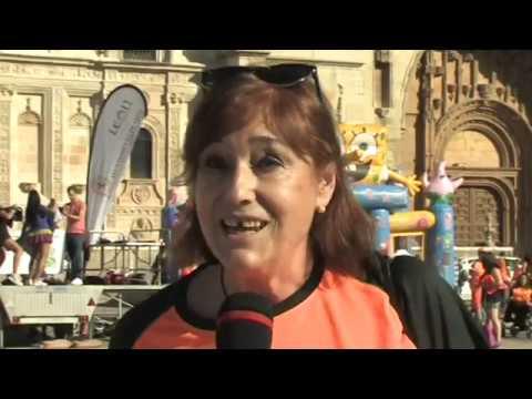 Reportaje 5a Carrera Solidaria Asociacion de Lucha Contra la Leucemia y Enfermedades de la Sangre