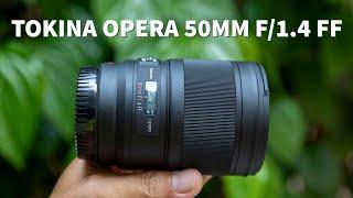 Trên tay nhanh Tokina Opera 50mm f/1.4 FF