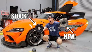 Fast & Furious Supra Audio UPGRADE! (12 Speaker Replacement + Review)