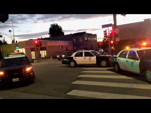 Карантин в районах Лос-Анджелеса